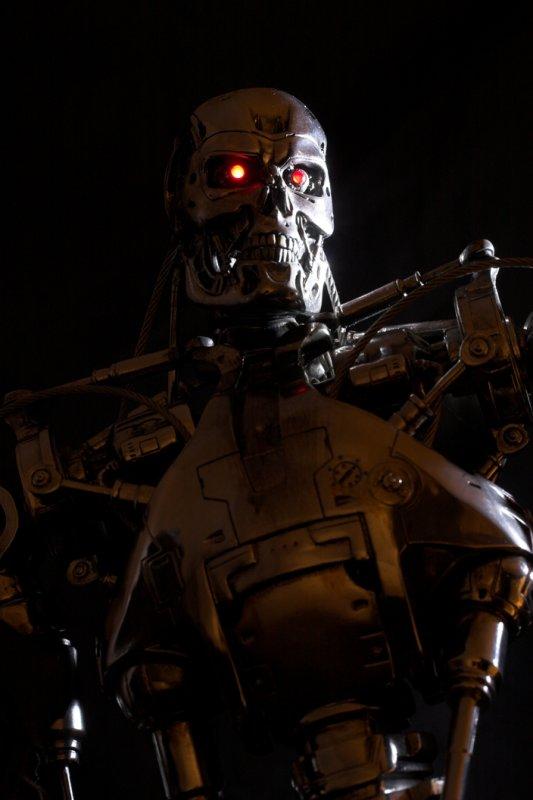 terminator t 800 endoskeleton papercraft